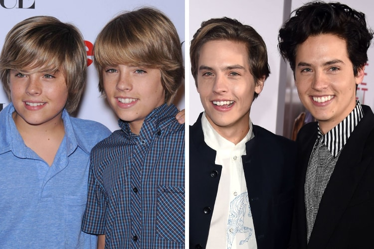 cole and dylan sprouse now and then | disney people ... |Cole And Dylan Sprouse Then And Now